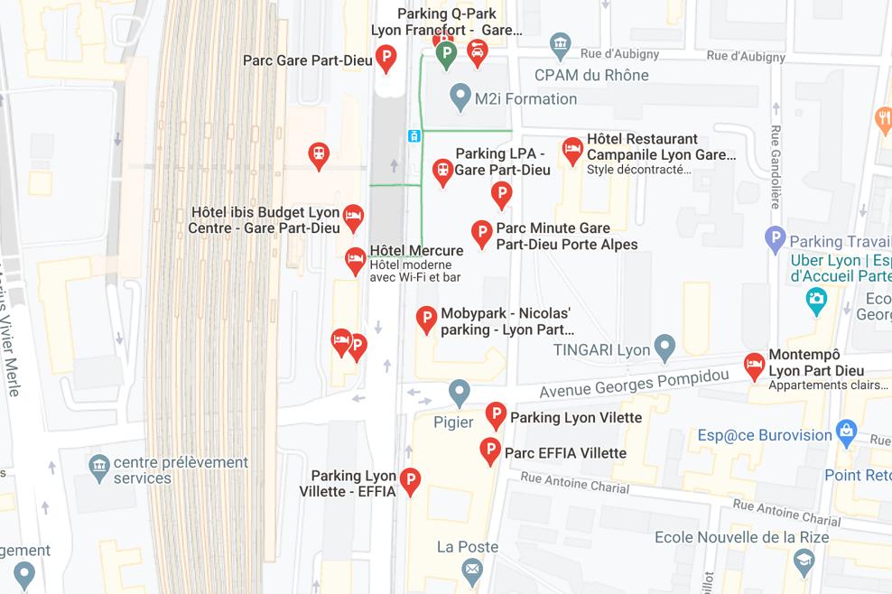 Notre Astuce Pour Un Parking A La Gare De Lyon Part Dieu Blog