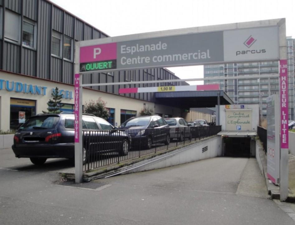 Parking étudiant Esplanade Strasbourg